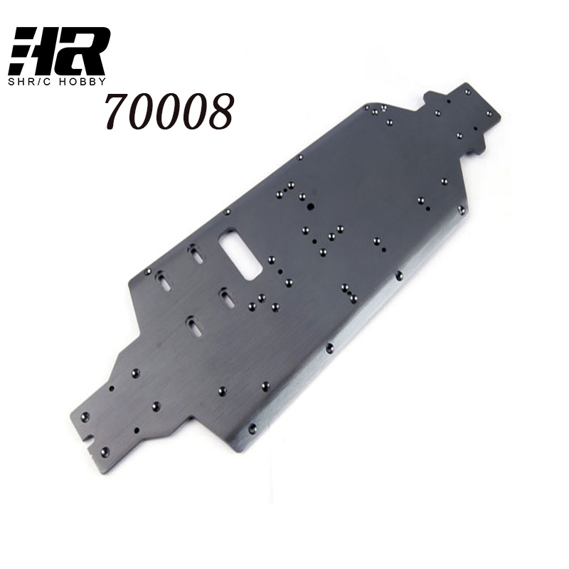70008 Bottom chassis suitable for RC car 1/8 HSP 94762 94766 Original accessories Free shipping