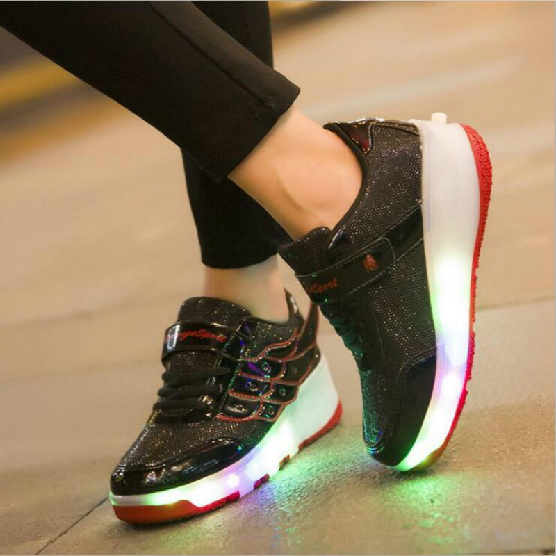 HOT-2017-New-Arrived-Children-shoes-Girls-Boys-Wing-Led-Light-Sneakers-Shoes-With-Kids-Shoes-1