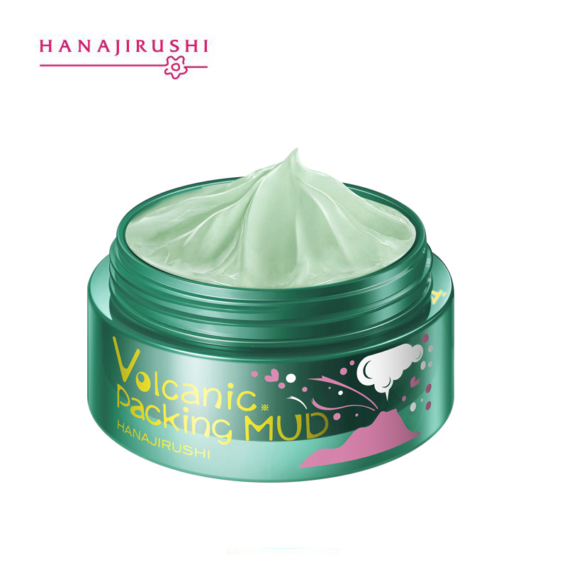 Image 3 - HANAJIRUSHI Clay Mask Volcanic Mud Face Mask Clear Pores Remove 