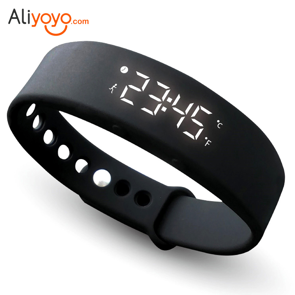 Smart Wristband W5 Smart Bracelet Sport Silicone Pedometer Sleep Fitness Tracker Smart Bands