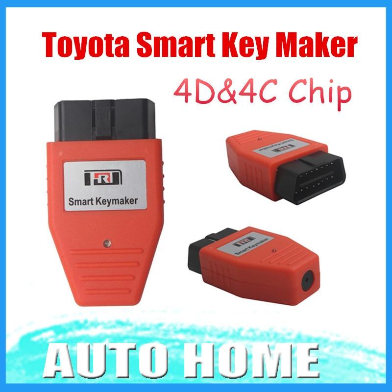Prix pour Toyota Smart Key maker 4D puce Toyota Smart Keymaker OBD2 Eobd Programmeur principal Livraison gratuite 3 Ans de Garantie
