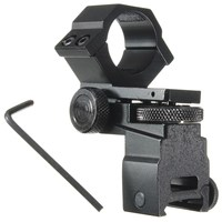 25 4mm Ring Tactical Laser Sight Flashlight Rifle Scope Mount Adjustable Elevation Windage For 20mm Rail