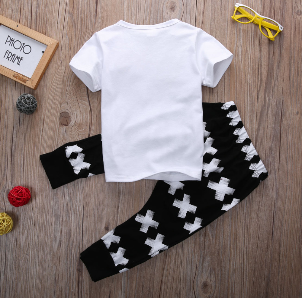 Kid-Clothing-Sets-Toddler-Kids-Baby-boy-Summer-Outfits-Sports-Clothes-Letter-T-shirt-TopsHarem-Pants-2pcs-Set-2