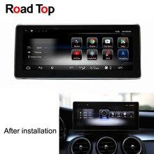 Android 7 Octa 8-Core 2 + 32 г автомобиля радио gps навигации Wi-Fi Bluetooth автомагнитол Экран для mercedes Benz GLC 63 43 300 350 200 250