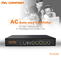 COMFAST CF AC100 AC Gateway Controller MT7621 880Mhz Core Full Gigabit Gateway Wifi Project Manager With