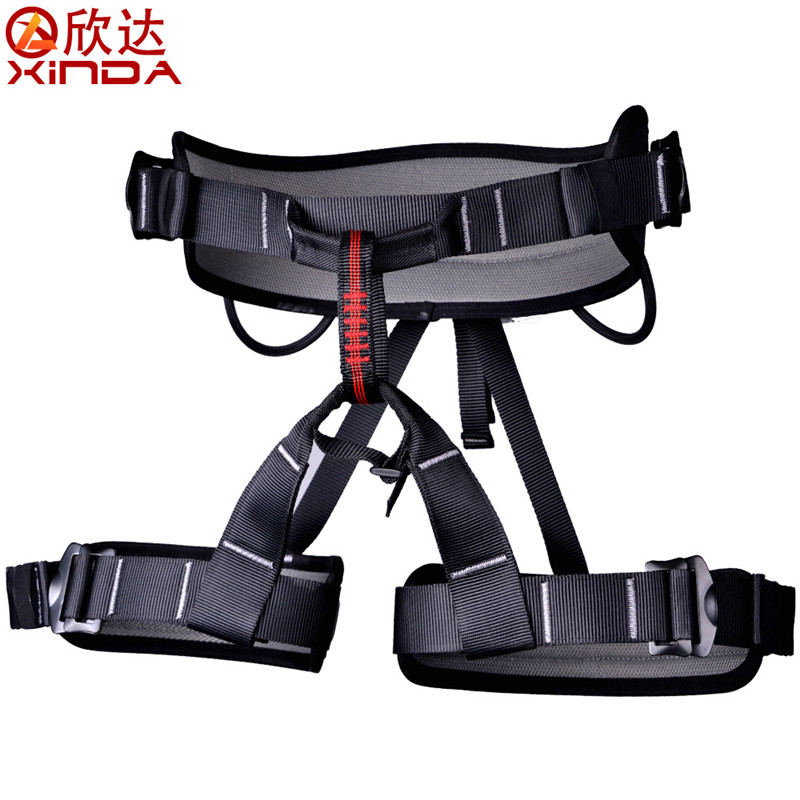 XINDA Professional Half Body Safety Belt Harnesses For Rock Climbing Outdoor Expand Training Aerial Protective Supplies