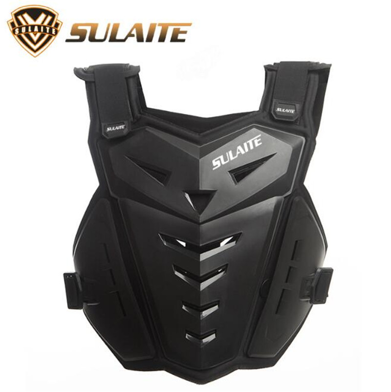 SULAITE Motorcycle Riding Chest Armor Back Protector Armor Motocross Off Road Racing Motorcycle Armor Vest in Motorcycle Protective Kneepad from Automobiles Motorcycles