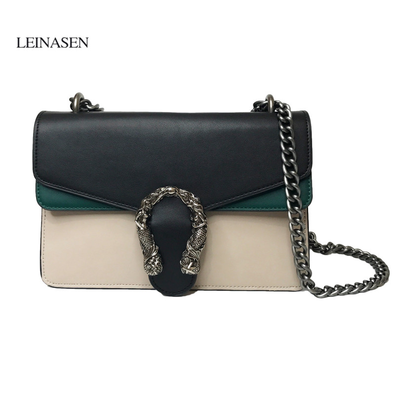 Luxury Brand Fashion Chain Shoulder Bag Messenger Bag Famous Designer Locks Crossbody Bags Women Clutch Purse luis vuiton gg bag hot sale luxury brand fashion chain casual shoulder bag messenger bag famous designer velvet leather women crossbody bags clutch