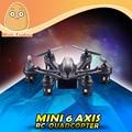 MJX RC helicóptero de 4 Canales 6 Axis UFO Eléctrica X901 Blanco Y Negro Mini Drone Quadcopter Con Luz LED
