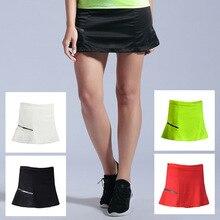 2 в 1 короткая спортивная Homme фитнес теннисная юбка шорты для бадминтона быстросохнущие женские спортивные юбки для бега в спортзале женские шорты для бега