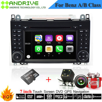 Autoradio dvd mp3 mp4 music For Mercedes/Benz/Sprinter/W209/W169/B200/A-class/W169/B-class/W245/B170 With GPS Navigation Player image