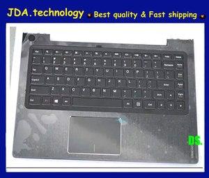 MEIARROW New/orig black upper shell For lenovo U330 U330P US keyboard bezel plamrest topcase upper cover C cover w/touchpad