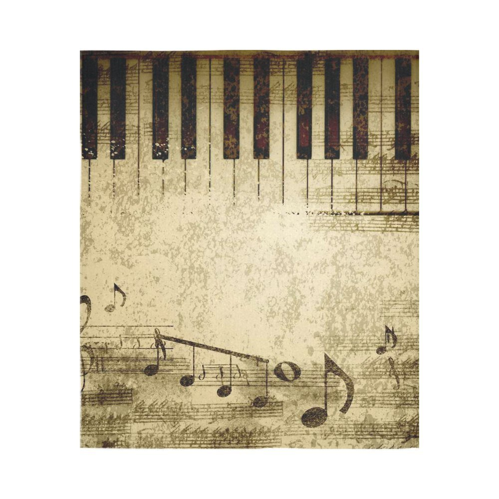 Music Clef Home Decor Tapestries Wall Art, Piano Keys Tapestry Wall ...