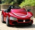 Frete Grátis-Hot selliing Maserati Crianças Elétricos Passeio Em Carro com Controle Remoto e Azul Farol Com Função de Balanço