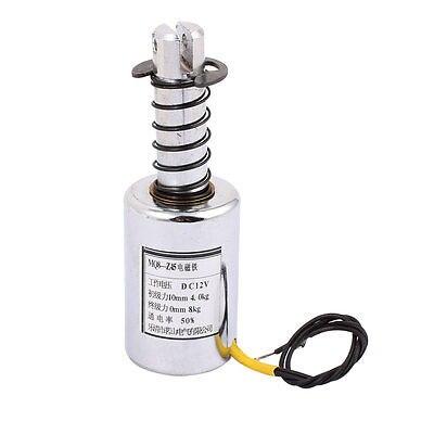 MQ8-Z45 DC 12V/DC24V 10mm 4-8Kg Motion Cirect Current Solenoid Electromagnet grundfos mq 3 45