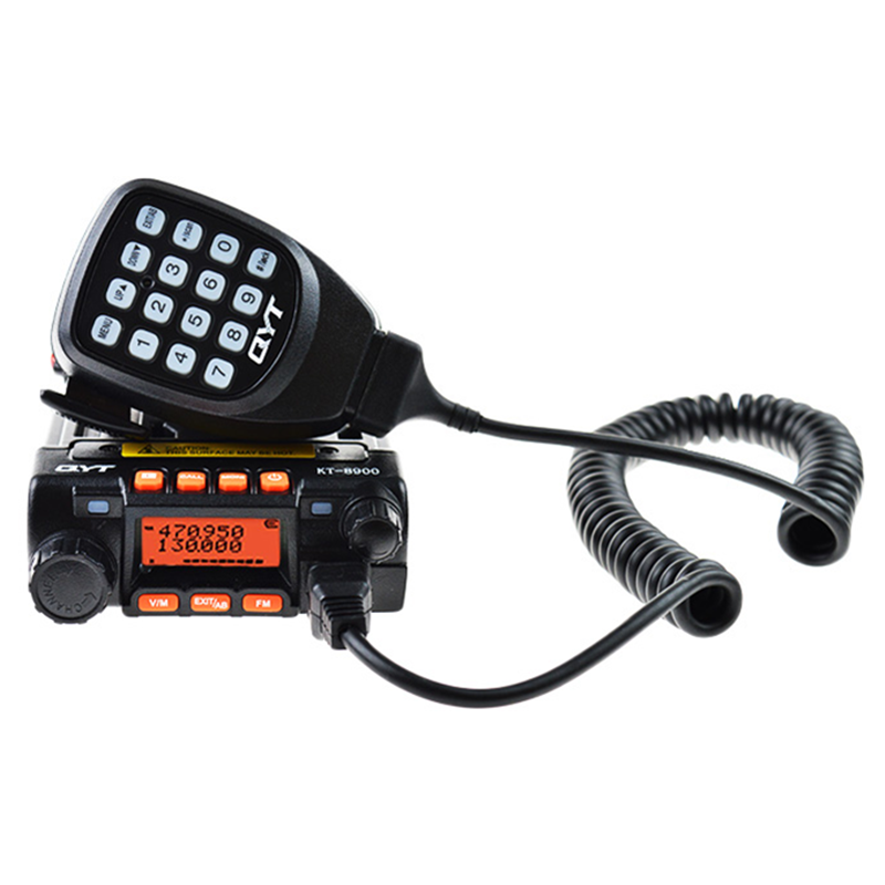 QYT KT 8900 Long Range Mobile Car Two Way Radio QYT Walkie Talkie 25km Dual Band Mini Mobile Transceiver VHF UHF