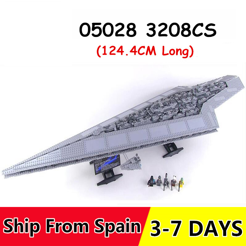 05028 3208 stücke spielzeug Blöcke star Wars Execytor Super Star Destroyer Modell Gebäude Bricks Kompatibel legoinglys 10221 10030