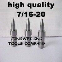 Hohe qualität hartmetall fluss drill America system UNF 7/16-20 (10,4mm) rund, form bohrer für edelstahl