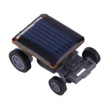 Nuevo mini solar powered coche de carreras de vehículos educativos gadget niños regalo de juguete nuevo caliente!