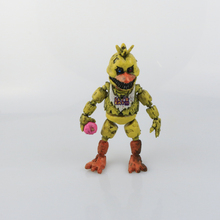 New 1pcs/set Minecraft Five Nights At Freddy's 4 FNAF Foxy Chica Bonnie Freddy Action Figures Kid Toy  children  Gifts
