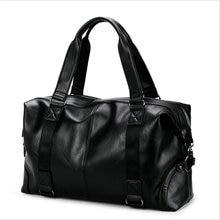 Гарячий продаж шкіряний тренажерний зал спортивні сумки високоякісних чоловіків PU Фітнес зберігання одне плече Сумки Чоловічий екскурсійний багаж Crossbody Bag