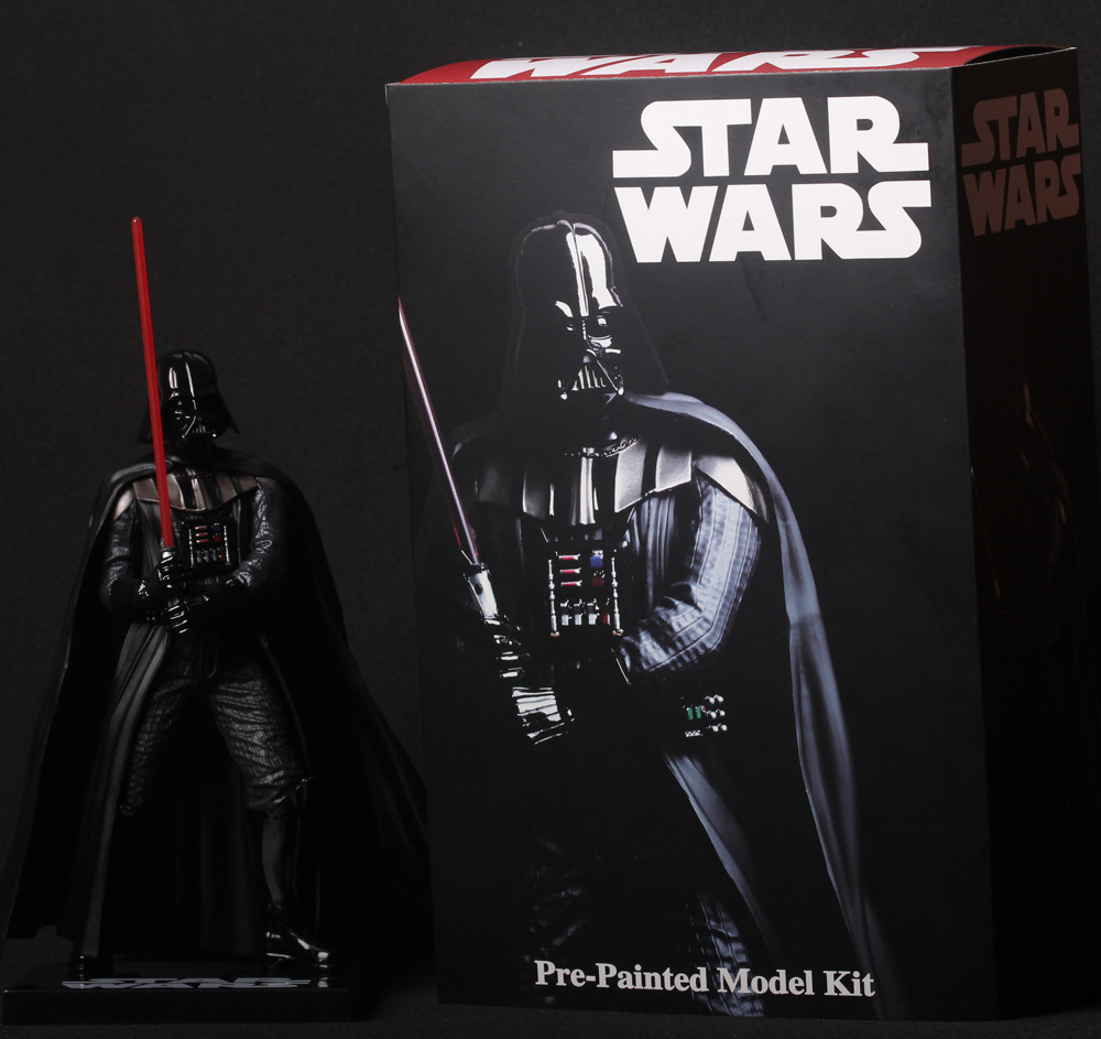 SAINTGI Star Wars Darth Vader Action Figure PVC 30CM Model Toys Kids Gifts Collection Free Shipping original box sonic the hedgehog vivid nendoroid series pvc action figure collection pvc model children kids toys free shipping