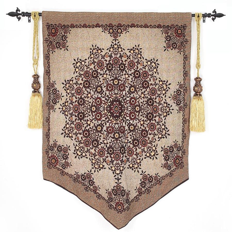 97*120 cm Bélgica Tapeçaria Da Suspensão de Parede Decoração Marroquina de Algodão Pano de Tecido home Imagem Decorativa Da Parede Da Arte Tapeçarias