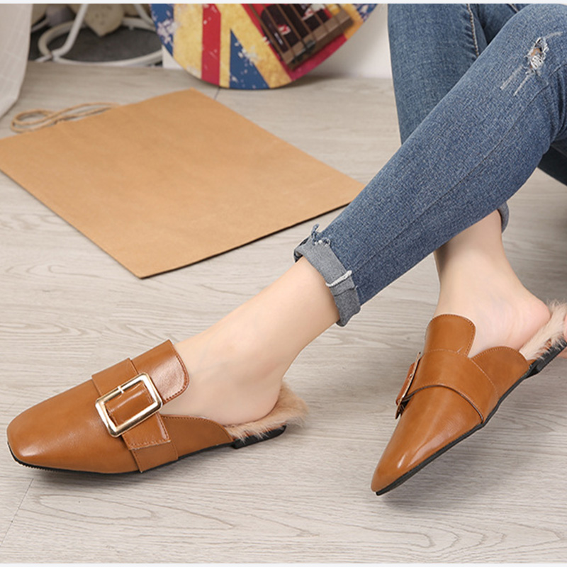 4525d791a Slippers Cheap Slippers MCCKLE Women Leisure Warm Winter Flat.We offer the  best wholesale price, quality guarantee, professional e-business service  and fast ...