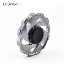 TOUCHMEL Hand Spinner Metal Fidget Spinner EDC Toy Anti Stress Wheel