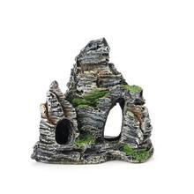 1pc Fish Tank Landscaping Ornamental Rockery Simulation Resin Aquarium Decoration for Home Supplies