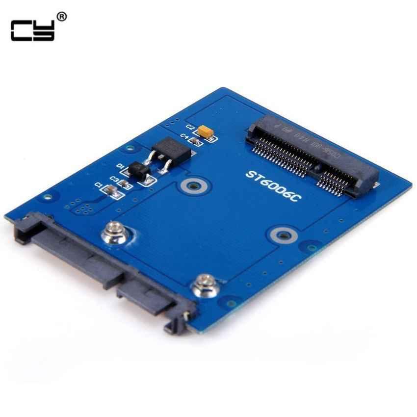 """Delgado tipo Mini PCI-E mSATA SSD a 2,5 """"SATA 3,0 22pin HDD adaptador Disco Duro PCBA"""