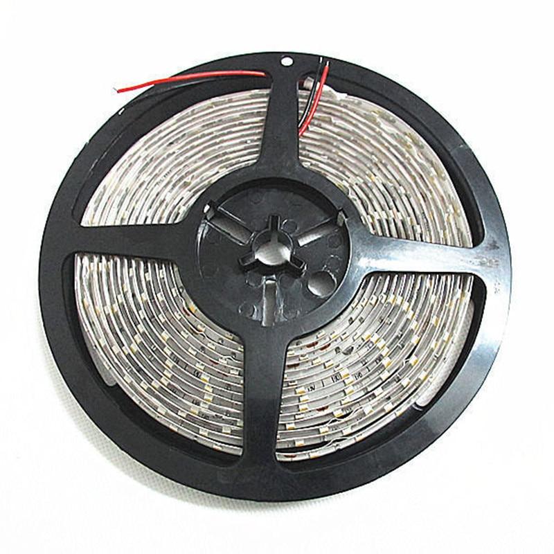 Купить с кэшбэком 5M High Quality 5630 300LEDs Pure Nature White Flexible 60LEDs/M Strip Light DC12V