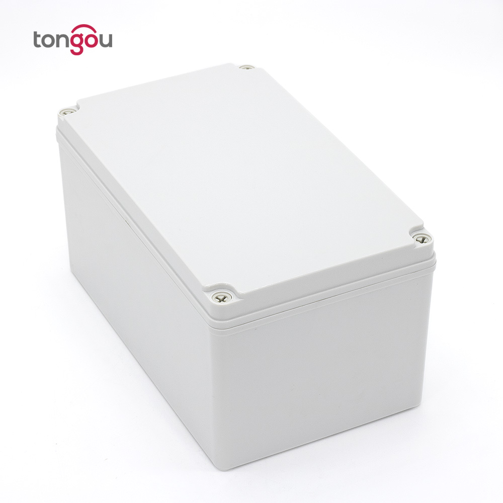 IP67 250*150*130 mm waterproof junction box Free customized trepanning 3 holes plastic control panel box ip камера 130 3518e