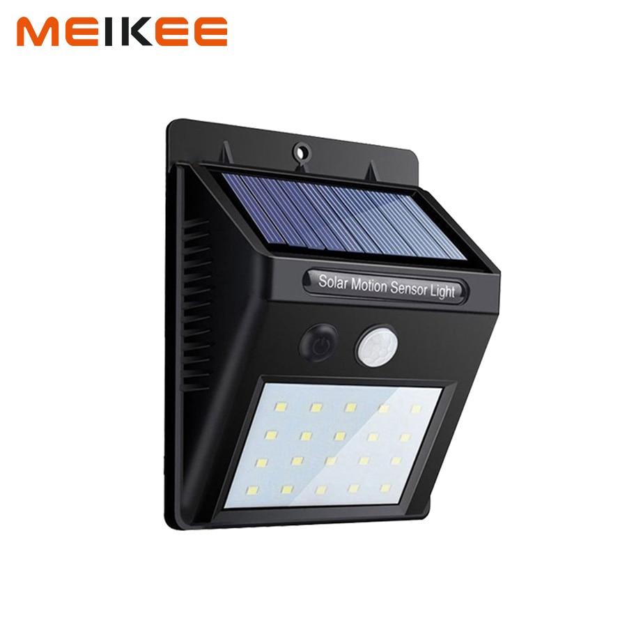 20leds Solar Lights Motion Sensor Outdoor Security Light