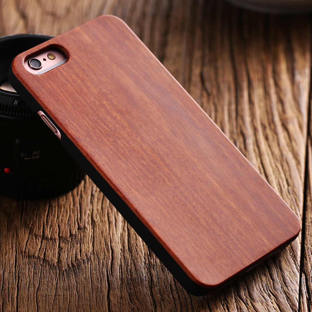 low priced e4d5e 10784 US $7.13 |KISSCASE Bamboo Case For iPhone 6 6S Plus 7 Plus SE 5S Cases  Natural Wood Protective Case For iPhone 8 8 Plus 7 6 6S Wood Cover-in  Fitted ...