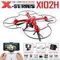 X102H MJX RC Drone Quadcopter Profesión Gimble Puede Añadir C4018 WIFI fpv gopro sjcam xiaomi hd cámara rc helicóptero de una tecla de retorno