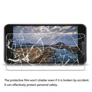 Image 4 - 2pcs Tempered Glass for Asus Zenfone 3 Max X008D X008 Protective Glass on ASUS ZenFone 3 Max ZC520TL ZC520 TL Screen Protector
