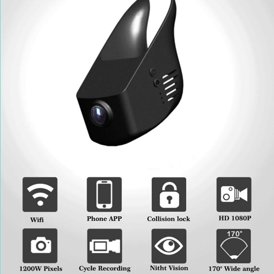 YESSUN For Nissan LIVINA/ Car Driving Video Recorder DVR Mini Wifi Camera/ Novatek 96658 FHD 1080P Dash Cam Original Style