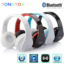 I65 Headphones with Microphone Deep Bass Wired Headphone Foldable Headset Support Volume Control For iphone samsung ipad PC mp3 radiation proof wired telephone headset for ipad iphone blue