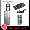 Mais novo Kit Cigarro Eletrônico Kanger Kbox E Kanger Subtanque Mini/Nano/Plus Com 18650 Baterias E Carregador Trustfire (1 conjunto AA
