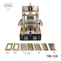 TBK 5 ב 1 מכונה מסגרת ציוד לתיקון טלפון נייד דבק הסר LCD מפריד LCD עבור 7/7 P