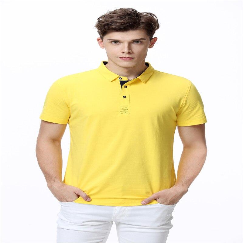 Fein Marke Polo Shirts Für Männer Sommer Kurzarm Beiläufige Klassische Baumwolle Slim Fit Business Herren Polos Männlichen 2018 Hohe Qualität Camisa27 Gesundheit Effektiv StäRken Mutter & Kinder