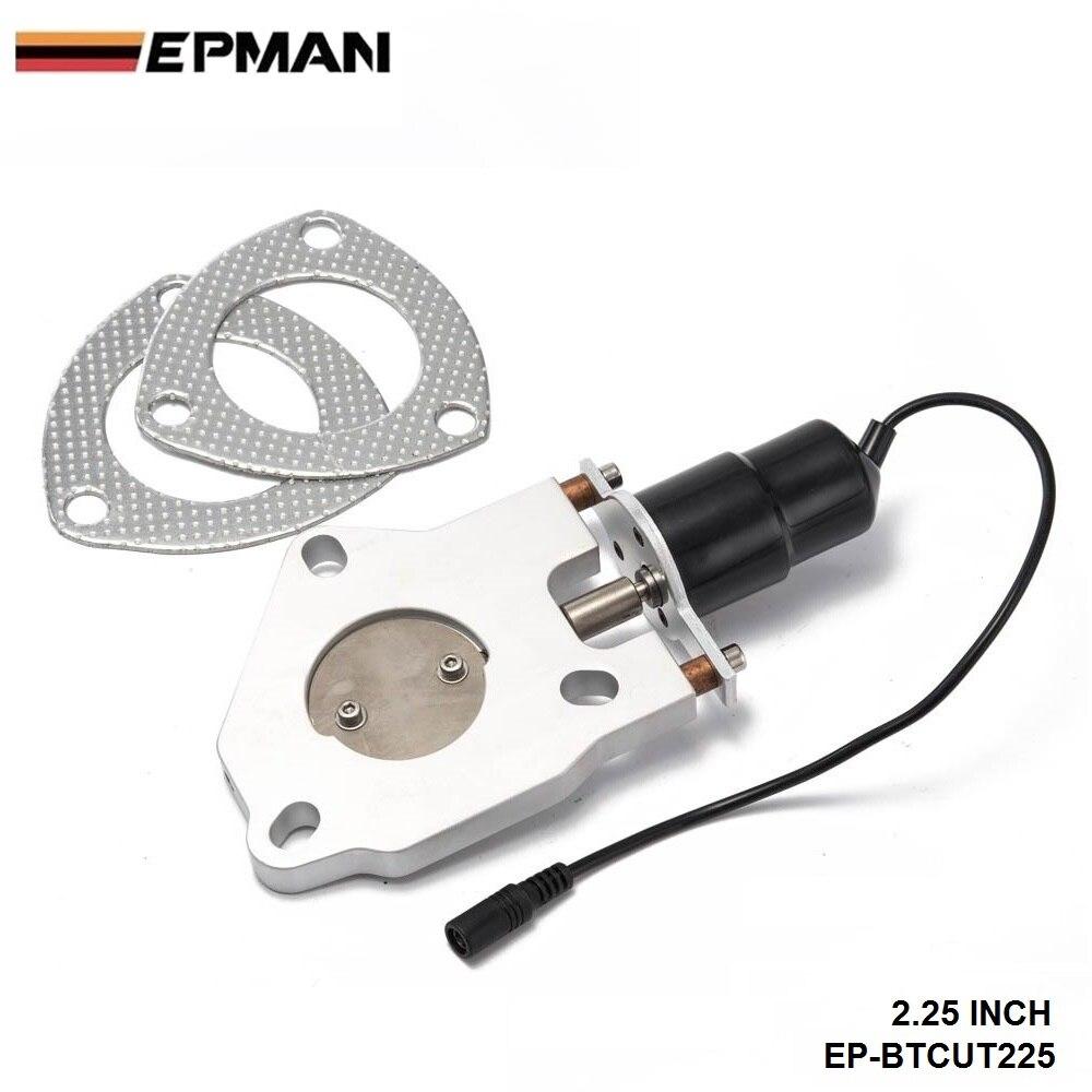"""2,2"""" электрический выключатель глушителя двигатель дистанционного управления комплект. Для BMW E39 5 серия 2000-2003 EP-BTCUT225"""