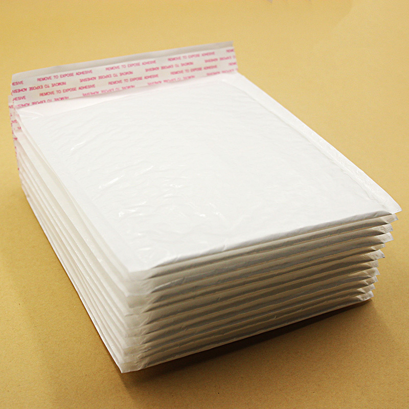 10 PCS 17*18cm Waterproof White Pearl Film Bubble Envelope Mailing Bags Anti-pressure Anti-shock Anti-static