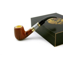 Top Quality E-pipe 618 Vape Mod Pipe Electronic Cigarette Dual 900mAh Wooden Pipe Mod Rechargeable E Pipe