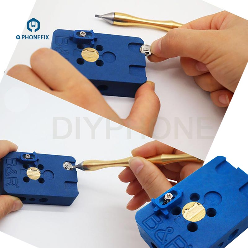PHONEFIX Fingerprint Schnell Fix Heizung Plattform Hause Rückkehr Taste Löten Reparatur Werkzeug Für iPhone 8 8P 7 7Plus 6S 6G-in Handwerkzeug-Sets aus Werkzeug bei title=
