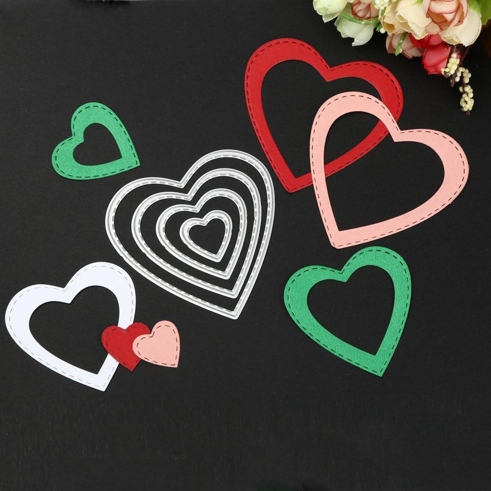 Scrapbook paper cheap - Heart Scrapbook Paper