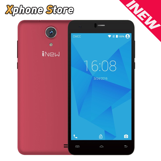 Inew u8w 5.5 pulgadas 3g wcdma teléfono andriod 5.1 mtk6580 quad Core 1.3 GHz 8 GB ROM 1 GB RAM Dual SIM HD Móvil Original teléfono