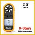 RZ 818 Portable Anemometer Anemometro Thermometer GM816 Wind Speed Gauge Meter Windmeter 30m/s LCD Digital Hand-held tool