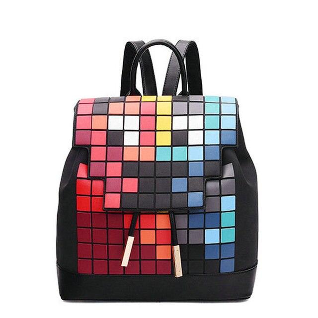 Nueva cantidad limitada de los hombres y mujeres colorido mosaico a ...